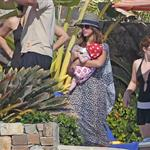 Jessica Alba shows off post baby body in bikini for NYE in Mexico with family  101546
