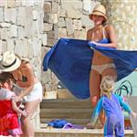 Jessica Alba shows off post baby body in bikini for NYE in Mexico with family  101553