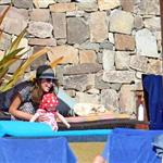 Jessica Alba shows off post baby body in bikini for NYE in Mexico with family  101558