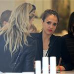 Jessica Alba shopping with a friend in Paris during Paris Fashion Week  119558