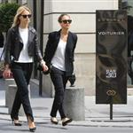 Jessica Alba shopping with a friend in Paris during Paris Fashion Week  119559