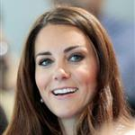 Catherine, Duchess of Cambridge watches Synchronised Swimming on Day 13 of the London 2012 Olympic Games 122921