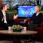 Alex Pettyfer on Ellen to promote I Am Number Four 77761