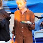 Alexander Skarsgard visits Kate Bosworth on the set of BFF & Baby 72725