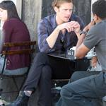 Alexander Skarsgard has lunch with friend at Joan's 53227