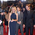 Brooklyn Decker, Taylor Kitsch, and Alexander Skarsgard attend the Battleship Japan Premiere at International Yoyogi first gymnasium Tokyo 110468