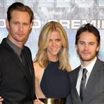 Brooklyn Decker, Taylor Kitsch, and Alexander Skarsgard attend the Battleship Japan Premiere at International Yoyogi first gymnasium Tokyo 110471
