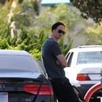Alexander Skarsgard gets angry at paparazzi after filling up at gas station  89063