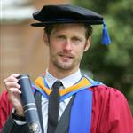 Alexander Skarsgard receives an honorary degree in the arts from Leeds Metropolitan University Leeds, England  90393