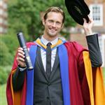 Alexander Skarsgard receives an honorary degree in the arts from Leeds Metropolitan University Leeds, England  90395
