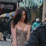 Ali Lohan old hag photo shoot in Times Square 31753