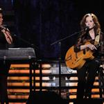 Alicia Keys and Bonnie Raitt at the 54th Annual Grammy Awards 105566