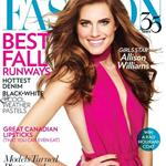 Allison Williams covers FASHION Magazine 117946