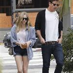 Amanda Seyfried and Josh Hartnett out for lunch at Wabi Sabi in Venice 112156