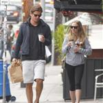 Amanda Seyfried and Josh Hartnett grab coffee and breakfast in Los Angeles  112162