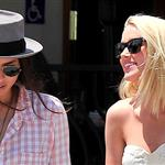 Amber Heard steps out with her girlfriend Tasya Van Ree in West Hollywood 120410