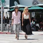 Amber Heard steps out with her girlfriend Tasya Van Ree in West Hollywood 120413