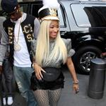 Nicki Minaj arrives for day 2 of American Idol auditions  126499