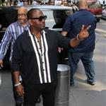 Randy Jackson arrives for day 2 of American Idol auditions  126500