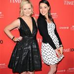 Amy Poehler and Aubrey Plaza at the 2012 Time 100 Gala in New York 112385