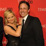 Amy Poehler and Seth Meyers at the 2012 Time 100 Gala in New York 112388
