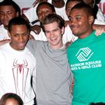 Andrew Garfield at the Boys and Girls Club the other day 119225