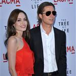 Brad Pitt Angelina Jolie at The Tree of Life premiere in LA  86056