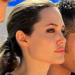 Angelina Jolie visiting the Syrian refugee camp Zaatari in Jordan 125778