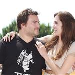 Angelina Jolie with Jack Black at Kung Fu Panda 2 photo call in Cannes 85185