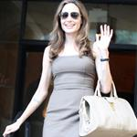 Angelina Jolie leaves The Roosevelt Hotel 111472