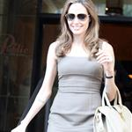 Angelina Jolie leaves The Roosevelt Hotel 111476
