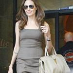 Angelina Jolie leaves The Roosevelt Hotel 111488