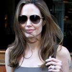 Angelina Jolie leaves The Roosevelt Hotel 111490