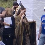 Angelina Jolie on location for Maleficent  118115
