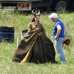 Angelina Jolie on location for Maleficent  118136