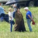 Angelina Jolie on location for Maleficent  118137
