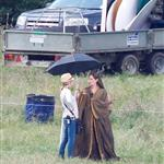 Angelina Jolie on location for Maleficent  118150