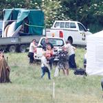 Angelina Jolie on location for Maleficent  118152