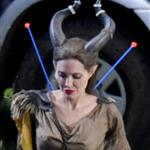 Angelina Jolie on the set of Maleficent 118644