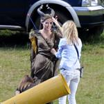 Angelina Jolie on the set of Maleficent 118647