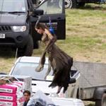 Angelina Jolie on the set of Maleficent 118664