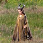 Angelina Jolie on the set of Maleficent 119156