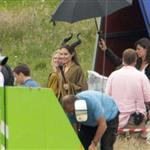 Angelina Jolie on the set of Maleficent 119159