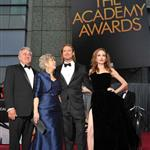 Angelina Jolie and Brad Pitt arrive with his parents at the 84th Annual Academy Awards 107605