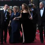 Angelina Jolie and Brad Pitt arrive with his parents at the 84th Annual Academy Awards 107606