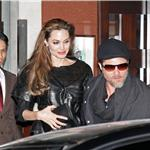 Brad Pitt Angelina Jolie eat at Guy Savoy Paris December 2010 74128