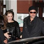Brad Pitt Angelina Jolie eat at Guy Savoy Paris December 2010 74133