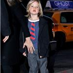 Angelina Jolie takes Shiloh, Zahara and Pax to the movies on the East Side of Manhattan 99848
