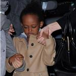 Angelina Jolie takes Shiloh, Zahara and Pax to the movies on the East Side of Manhattan 99862