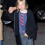 Angelina Jolie takes Shiloh, Zahara and Pax to the movies on the East Side of Manhattan 99863